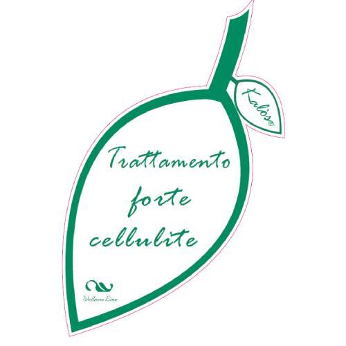 Olio massaggio trattamento forte cellulite Kalos